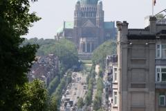 Brussel-Vergezicht-met-Basiliek-van-Koekelberg