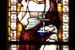 Harz-Quedlinburg-053-Stiftskirche-St.-Servatii-Glas-in-loodraam-Christus