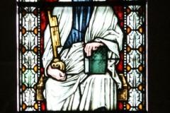 Harz-Quedlinburg-068-Stiftskirche-St.-Servatii-Glas-in-loodraam-H.-Petrus
