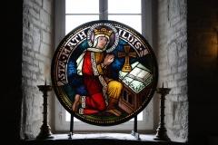 Harz-Quedlinburg-070-Stiftskirche-St.-Servatii-Glas-in-loodraam