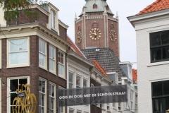Den-Haag-Schoolstraat-en-Grote-Kerk