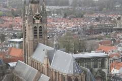 Delft-Uitzicht-op-Oude-Kerk-vanaf-de-Nieuwe-Kerk-2