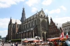 Haarlem-Sint-Bavokerk-op-Grote-Markt