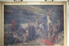 Sint-Jakobkerk-Schilderij-van-Portaels-De-Kruisiging-van-Christus