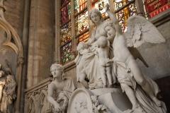 St.-Michielskathedraal-Beeld-van-engelen