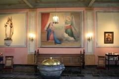 Sint-Gerlachuskerk-Doopvont-en-Boodschap-aan-Maria