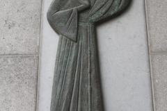 Sint-Truiden-286-Beeld-Franciscaan-met-vogel-door-Rik-van-Schil-1998