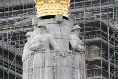 Brussel-2014-0503-Oorlogsmonument-op-Poelaertplein-detail