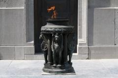 Brussel-2014-1377-Congreskolom-Eeuwige-vlam-bij-het-graf-van-de-onbekende-soldaat