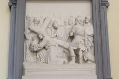 Brussel-Sint-Jakobkerk-Kruiswegstatie-3