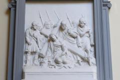 Brussel-Sint-Jakobkerk-Kruiswegstatie-9