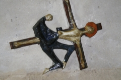 Sint-Truiden-Sint-Gangulfuskerk-031-Kruiswegstatie-XI