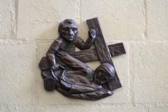 Houthem-St-Gerlach-Sint-Gerlachuskerk-Kruiswegstatie-9