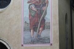 Kitzbühel-056-Katherinenkirche-Muurtekening-Christoffer-met-Kind