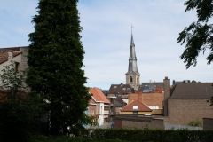 Sint-Truiden-034-Stadsgezicht-met-toren-St-Maartenkerk