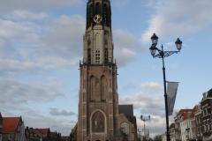 Delft-Nieuwe-Kerk-en-fietsers