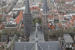 Delft-Uitzicht-vanaf-Nieuwe-Kerk-op-andere-kerk-3