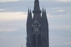Delft-Vergezicht-met-Oude-Kerk
